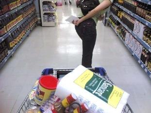 pushing-a-shopping-cart
